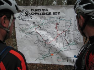 Ouachita Challenge Course Map